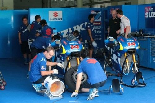 Suzuki Test Garage