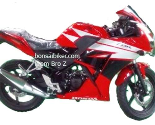 Spyshot Honda CBR 150R Lokal Indonesia