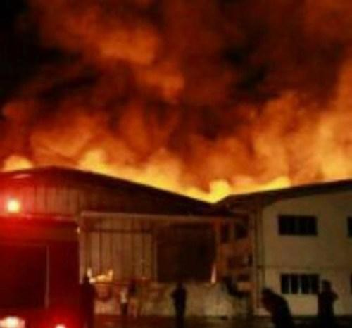 PT Kahatek Rancaekek Kebakaran