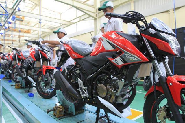 Penjualan Honda CB150R Streetfire