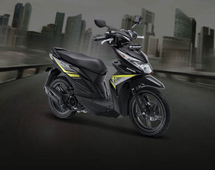 Honda BeAT warna Garage Black