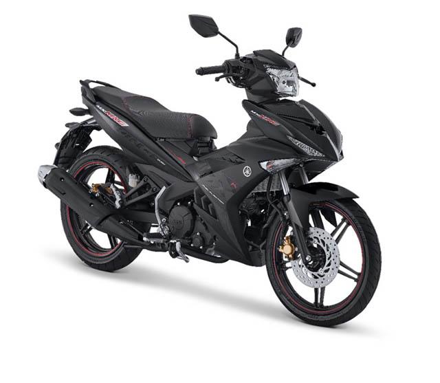 Yamaha MX King warna Drift Black