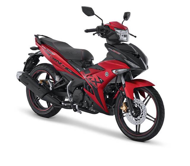 Yamaha MX King warna Red King
