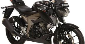 Suzuki GSX S150 warna matte black
