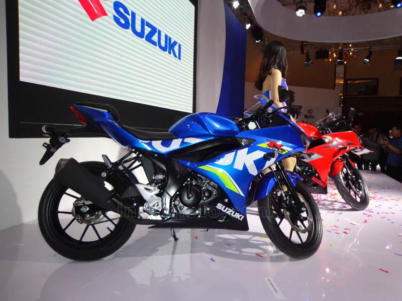 Launching Suzuki GSX-R150