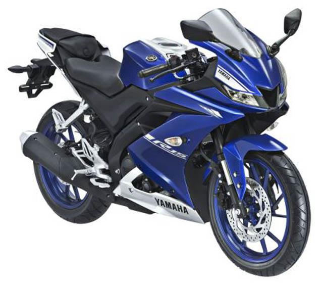 Yamaha All New R15 warna Racing Blue