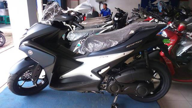 Yamaha Aerox 155 VVA di dealer Cileungsi Bogor