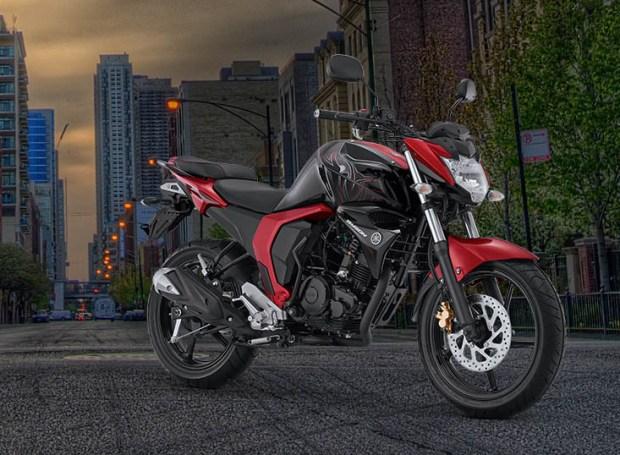Yamaha Byson FI versi 2017 warna Red Combat