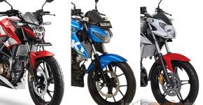 Penjualan motor sport 150cc September 2017