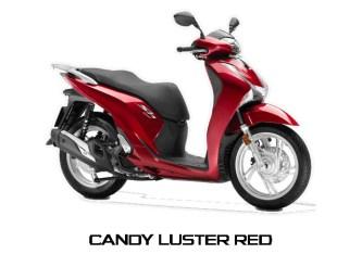 Honda SH150i warna Candy Cluster Red