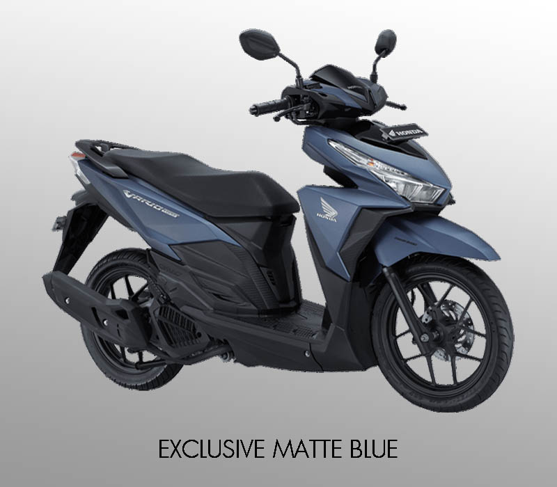 Honda Vario 150 eSP warna Exclusive Matte Blue