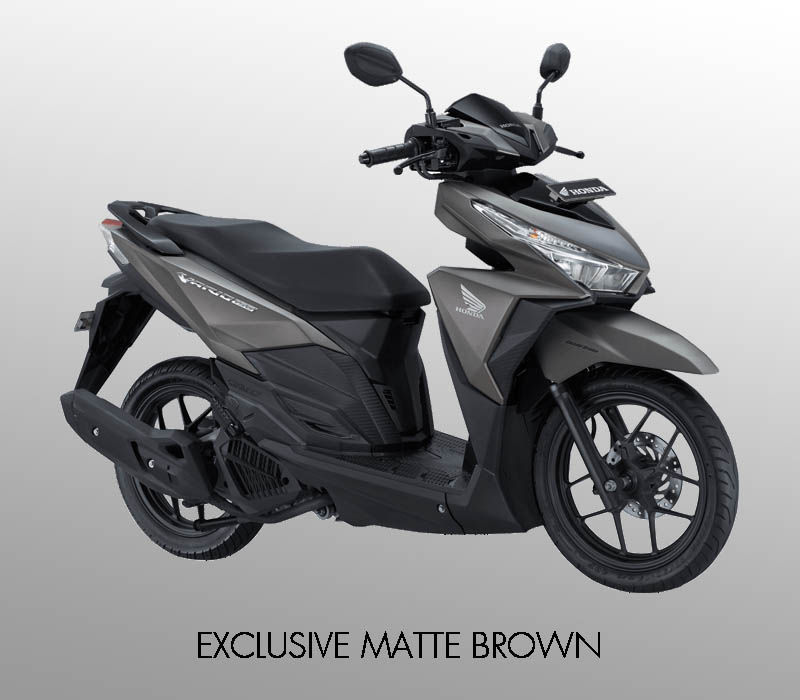 Honda Vario 150 eSP warna Exclusive Matte Brown