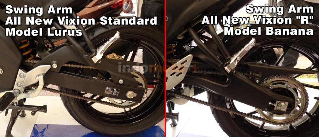 "Perbedaan Swing Arm Yamaha Vixion Standard VS Vixion ""R"""