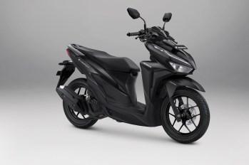 Honda Vario 125 Warna Advance Matte Black