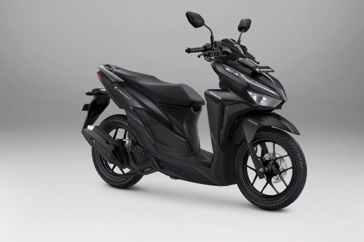 Honda Vario 125 Warna Advance Matte Black