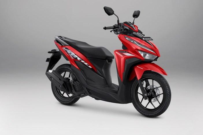 Honda Vario 125 Warna Advance Red