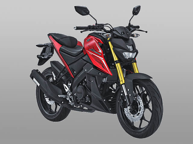 Yamaha Xabre 2017 warna matte red
