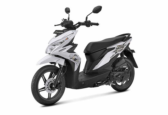 Honda Beat Street ESP Warna Putih (Street White)