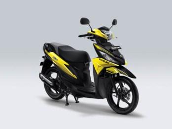 Suzuki Address Playful warna Aura Yellow
