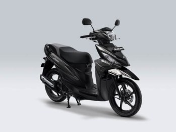 Suzuki Address Playful warna Dark Grey