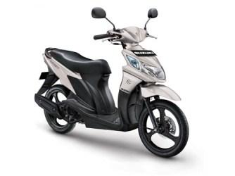 Suzuki Nex warna matt platinum silver