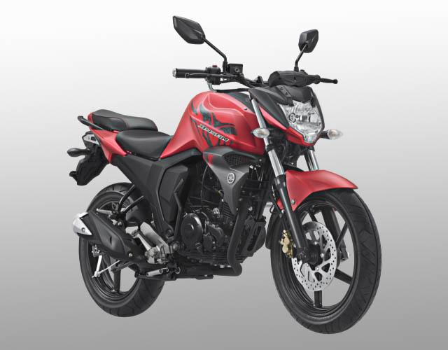 Yamaha Byson FI warna matte red