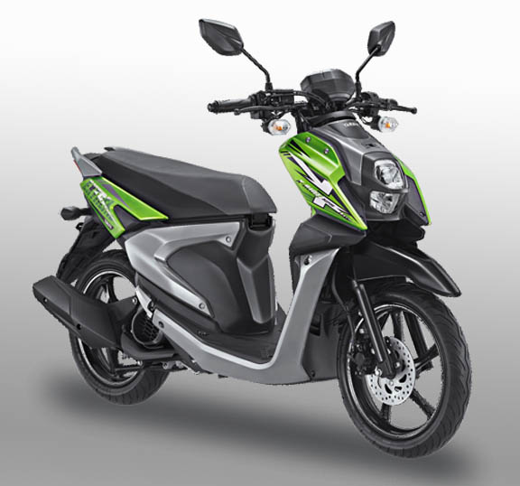 All New Yamaha X-Ride 125 warna explorer green (hijau)