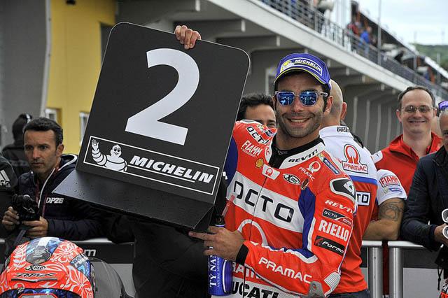 Danilo Petrucci di MotoGP Assen