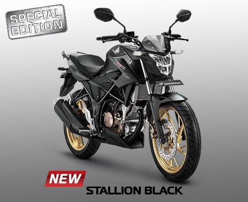 Honda CB150R warna Stallion Black