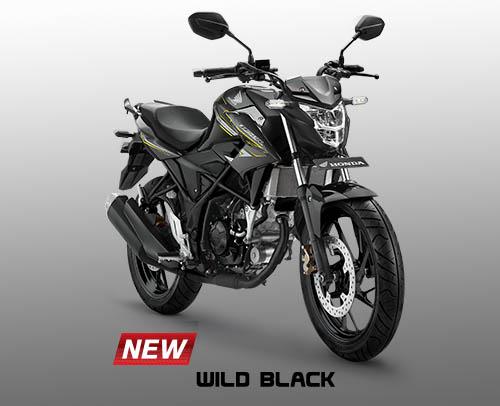 Honda CB150R warna Wild Black