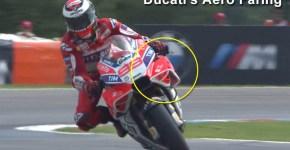 Ducati's aero fairing