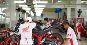 bengkel resmi Honda AHASS Semarang
