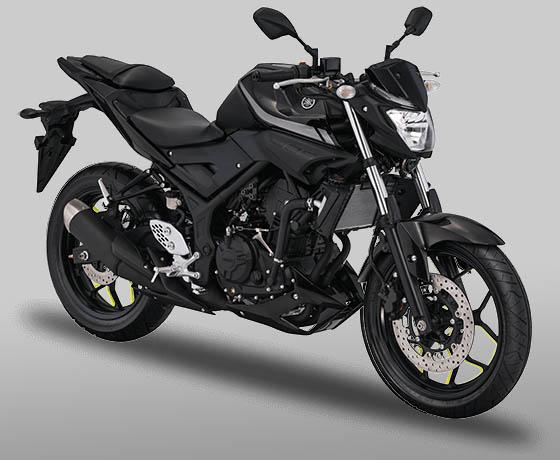 Yamaha MT25 warna Black Metallic