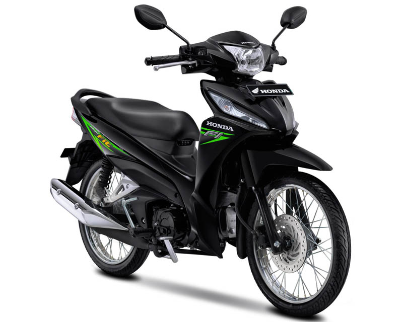 Honda Revo Fit Warna Neo Green (Hijau)