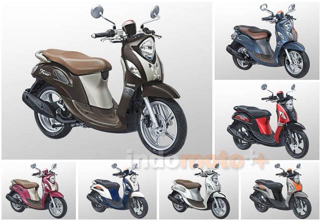 Pilihan Warna Yamaha Fino 2018