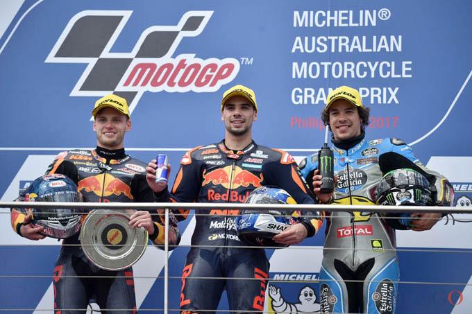 Miguel Oliveira juara Moto2 Australia