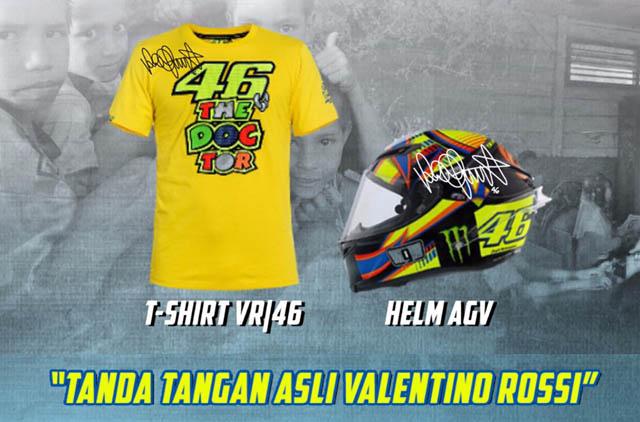T-Shirt VR46 Dan Helm AGV