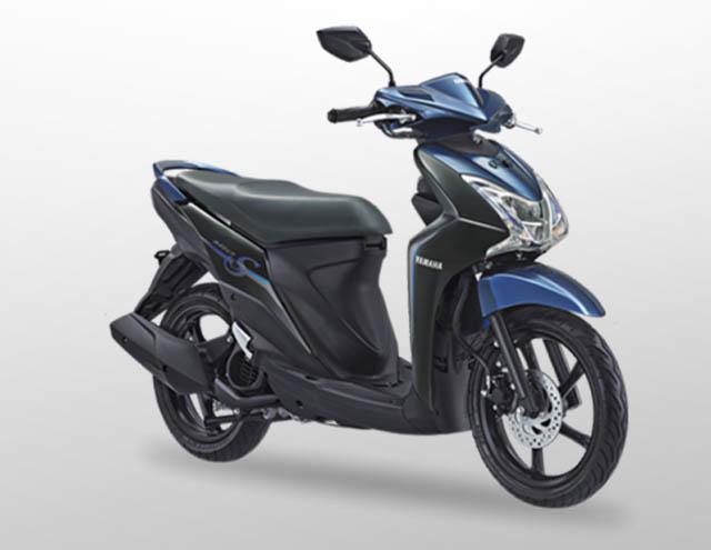 Yamaha Mio S 125 Warna Strong Black (Hitam)