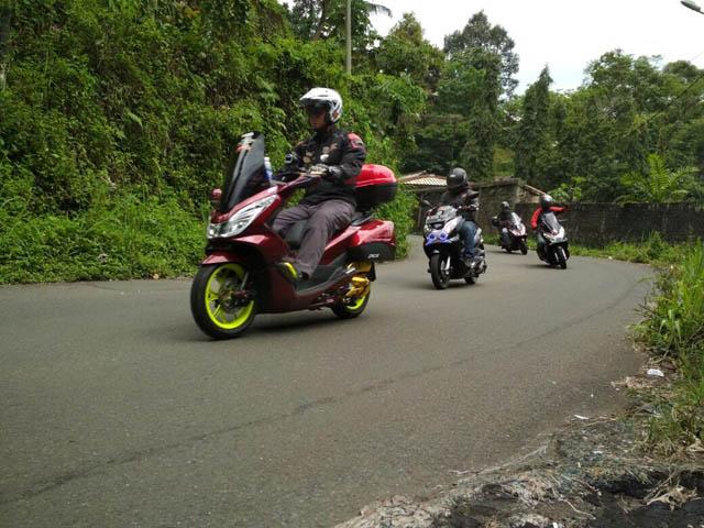 Gathering Matic Asosiasi Honda Jakarta (AHJ)