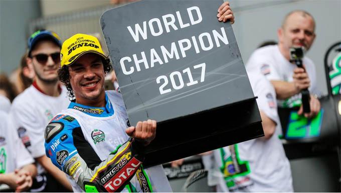 Franco Morbidelli juara dunia moto2 2017