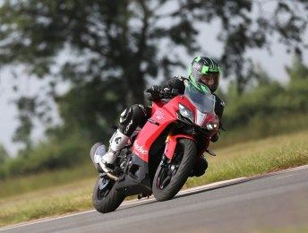 TVS Apache RR 310 Ride Test