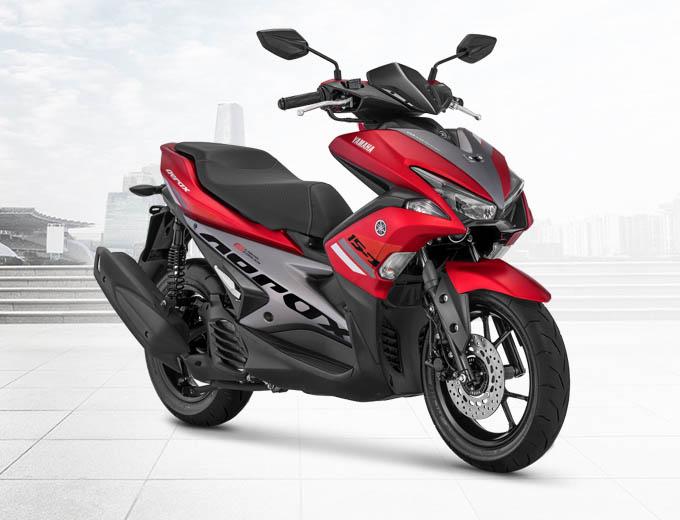 Yamaha Aerox 155 VVA Warna Merah (Red)