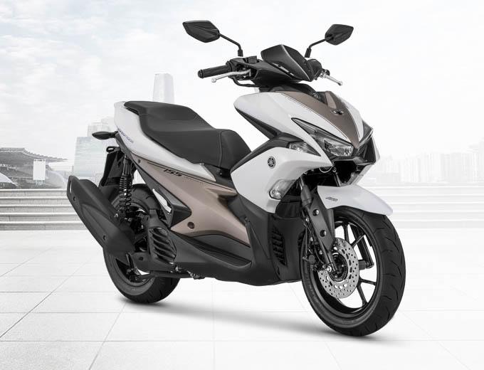 Yamaha Aerox 155 VVA S-Version Warna Putih (White)