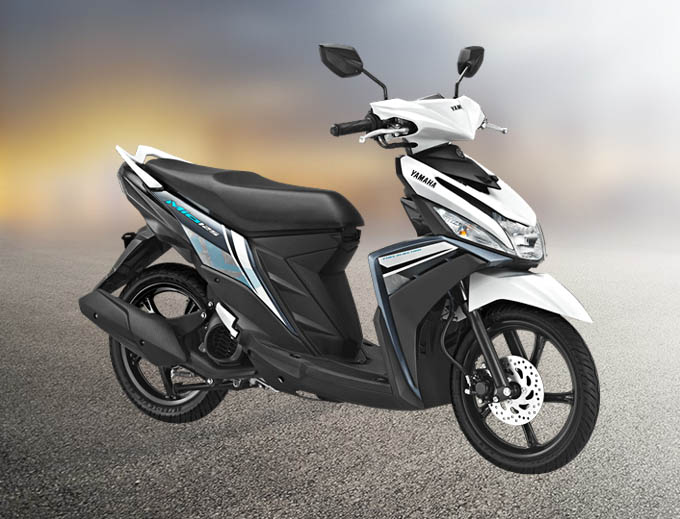 Yamaha Mio M3 125 Warna Awesome White (Putih)