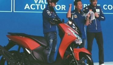 Launching Yamaha Lexi 125