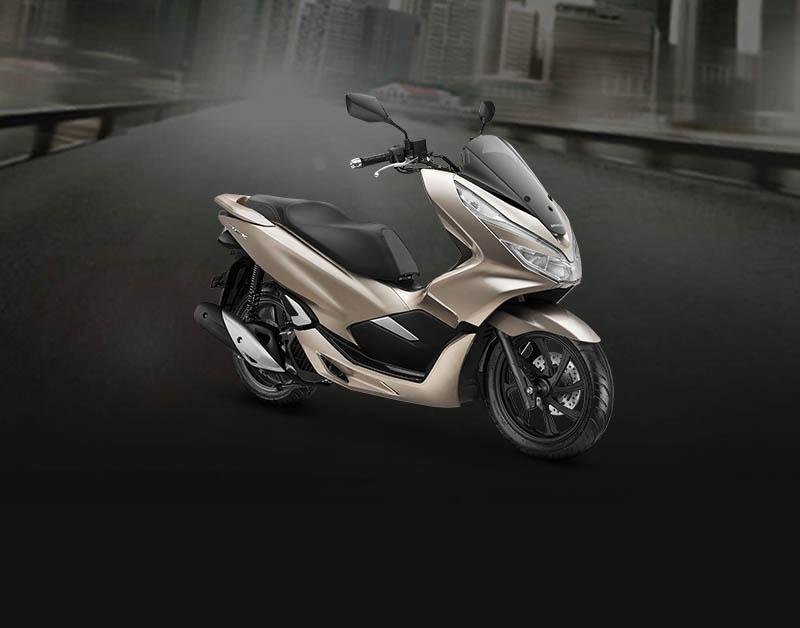 Honda PCX Warna Glamour Gold