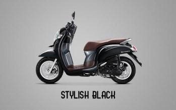 Honda Sccopy Warna Stylish Black