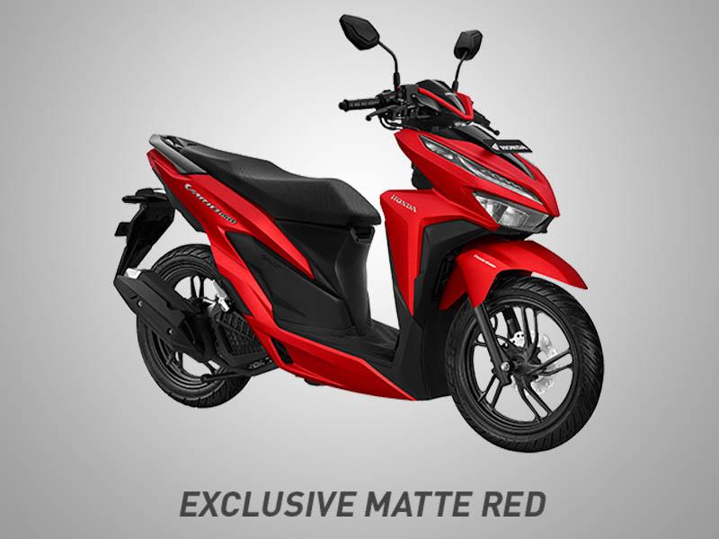 Honda Vario 150 eSP Warna Exclusive Matte Red
