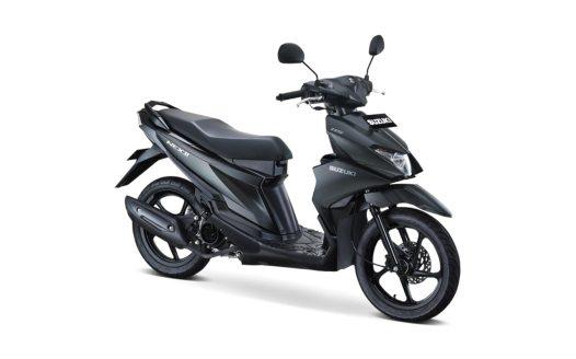 Suzuki Nex II Tipe Elegant Warna Solid Black