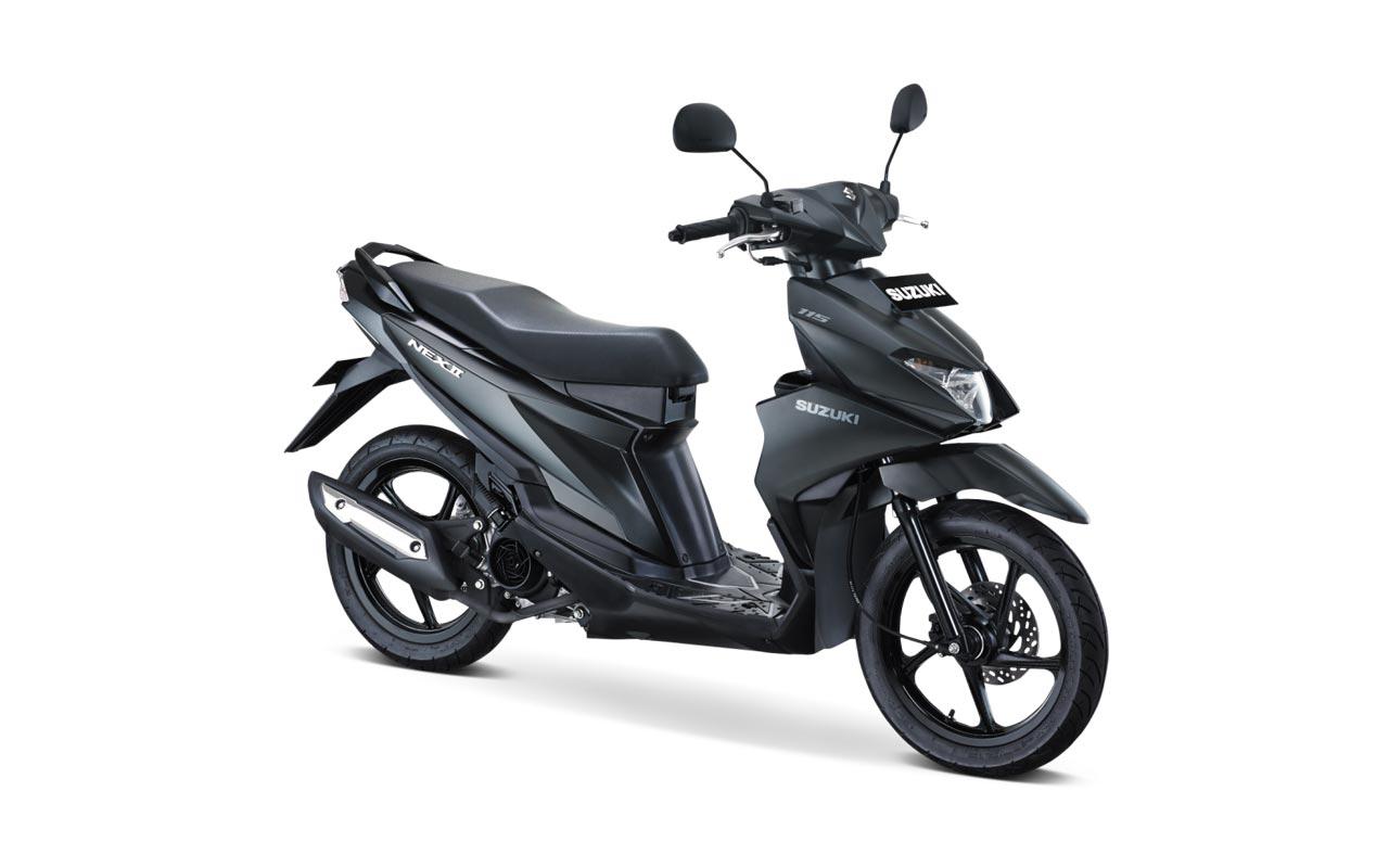 Suzuki Nex II Tipe Elegant Premium Warna Premium Black